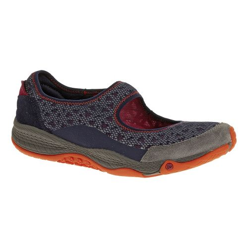 Womens Merrell AllOut Bold Casual Shoe - Navy 6.5