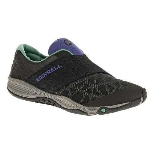 Womens Merrell AllOut Rave Casual Shoe - Black 6.5