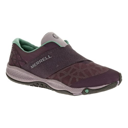 Womens Merrell AllOut Rave Casual Shoe - Plum Perfect 5.5