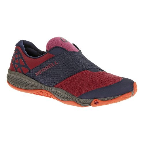 Womens Merrell AllOut Rave Casual Shoe - Wine 8.5