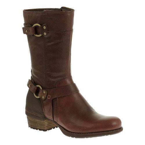 Womens Merrell Shiloh Peak Casual Shoe - Chocolate Brown 7