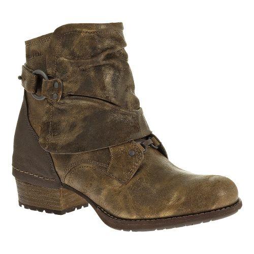 Womens Merrell Shiloh Cuff Casual Shoe - Brown/Oak 8.5