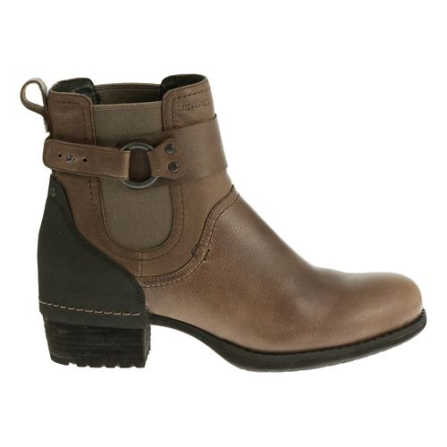 Womens Merrell Shiloh Pull Casual Shoe - Wet Sand 5.5