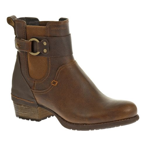 Womens Merrell Shiloh Pull Casual Shoe - Oak/Black 6.5