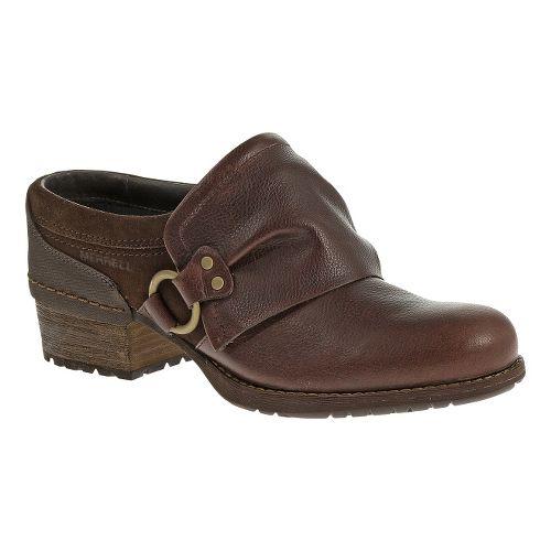 Womens Merrell Shiloh Slide Casual Shoe - Chocolate 6