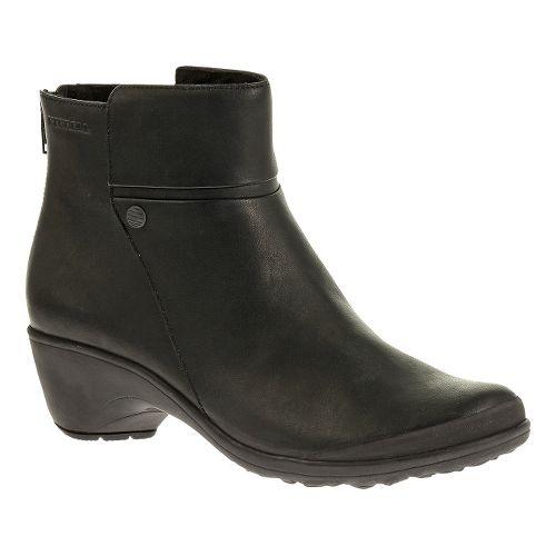Womens Merrell Veranda Mid Casual Shoe - Black 6
