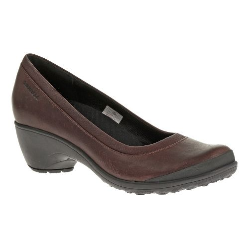 Womens Merrell Veranda Casual Shoe - Burgundy 6