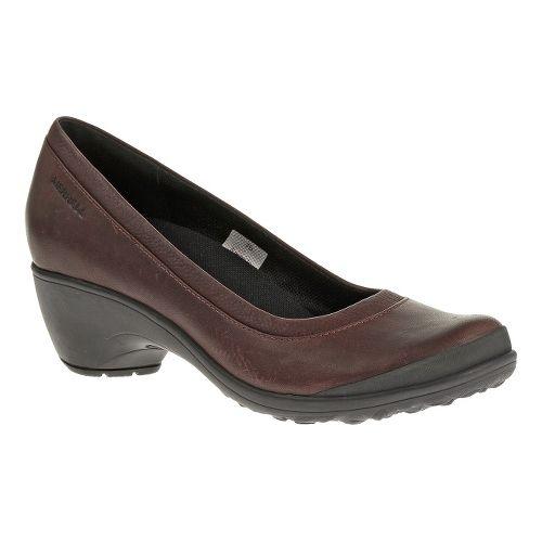 Womens Merrell Veranda Casual Shoe - Burgundy 8.5