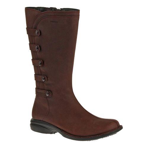 Womens Merrell Captiva Launch 2 Waterproof Casual Shoe - Burgundy 9