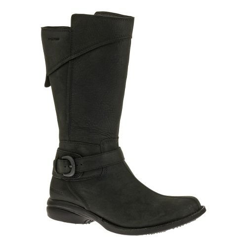 Womens Merrell Captiva Buckle-Down Waterproof Casual Shoe - Black 10