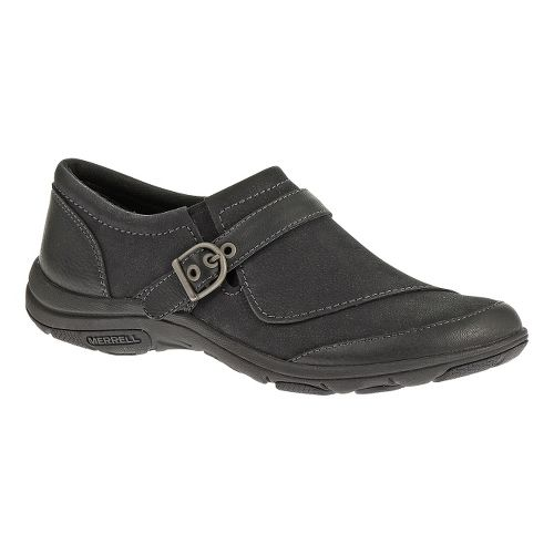 Womens Merrell Dassie Buckle Casual Shoe - Black 10.5