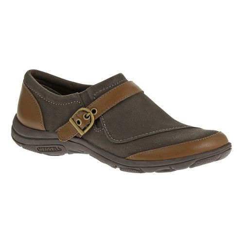 Womens Merrell Dassie Buckle Casual Shoe - Brown/Java 10.5