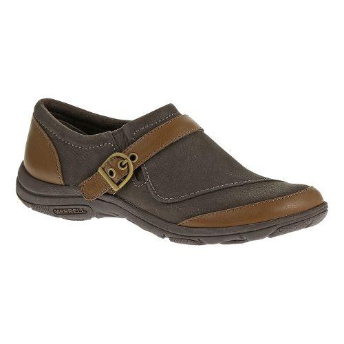 Womens Merrell Dassie Buckle Casual Shoe - Brown/Java 8.5