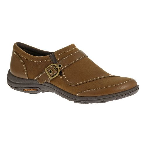 Womens Merrell Dassie Buckle Casual Shoe - Oak 9