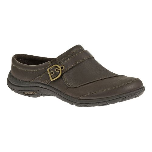 Womens Merrell Dassie Slide Casual Shoe - Espresso 10