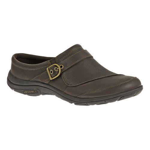 Womens Merrell Dassie Slide Casual Shoe - Espresso 5
