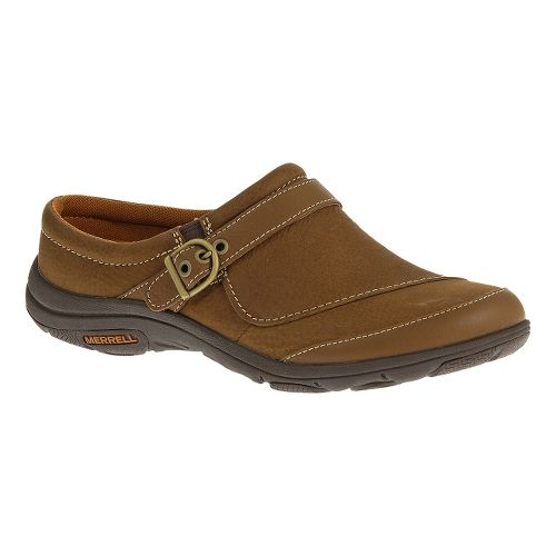 Womens Merrell Dassie Slide Casual Shoe - Oak 10