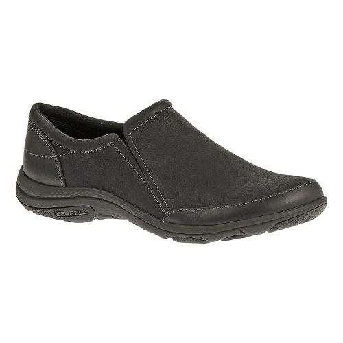 Womens Merrell Dassie Moc Casual Shoe - Black 10.5