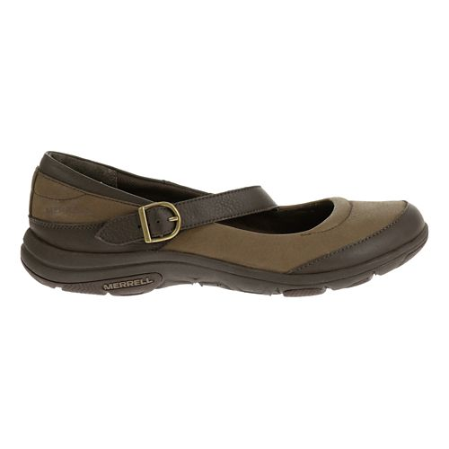 Womens Merrell Dassie MJ Casual Shoe - Char Brown 8.5