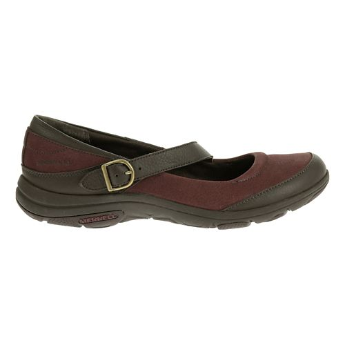 Womens Merrell Dassie MJ Casual Shoe - Deep Red/Espresso 8