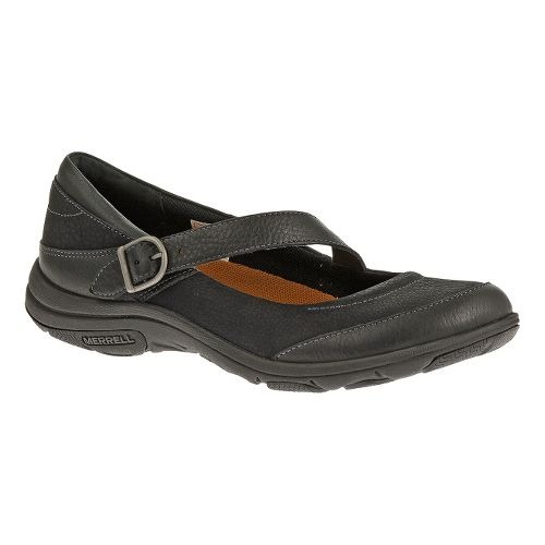 Womens Merrell Dassie MJ Casual Shoe - Black 7.5