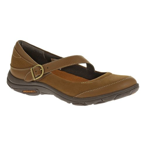 Womens Merrell Dassie MJ Casual Shoe - Oak 6.5