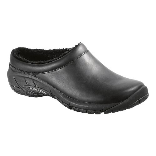 Womens Merrell Encore Nova Crystal Leather Casual Shoe - Black 10