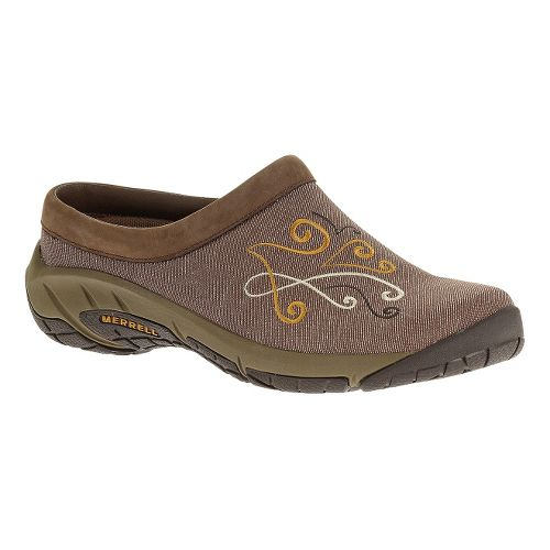 Womens Merrell Encore Blues Casual Shoe - Brown 8
