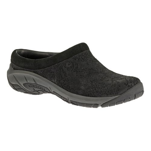 Womens Merrell Encore Frill Casual Shoe - Black 10.5
