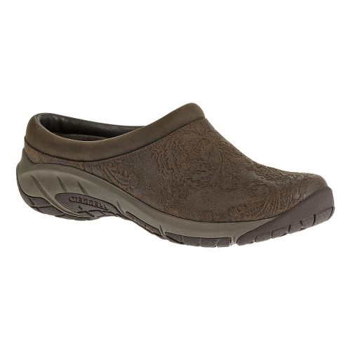 Womens Merrell Encore Frill Casual Shoe - Brown 5