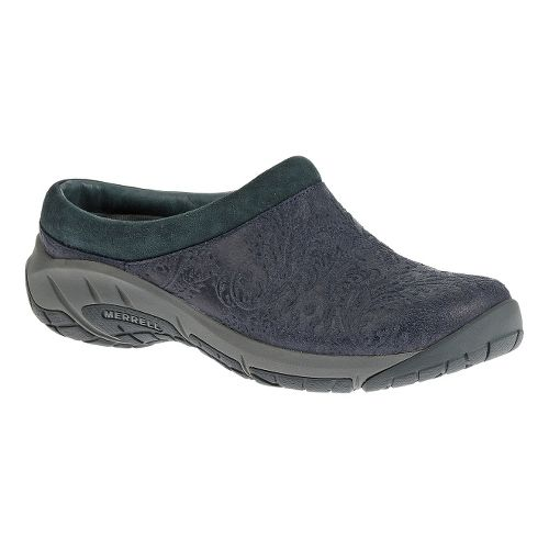 Womens Merrell Encore Frill Casual Shoe - Navy 10