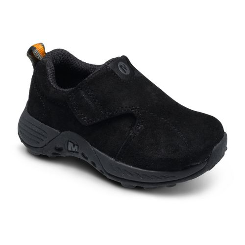 Kids Merrell Boys Jungle Moc Sport A/C Casual Shoe - Black 7