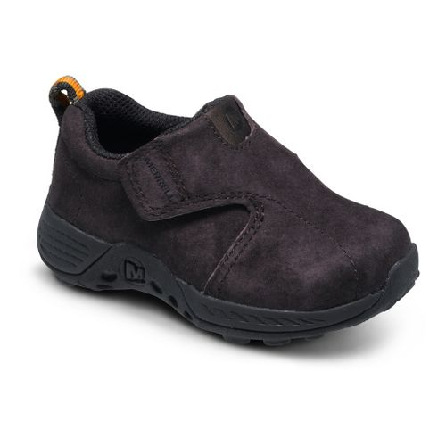 Kids Merrell Boys Jungle Moc Sport A/C Casual Shoe - Brown/Black 10