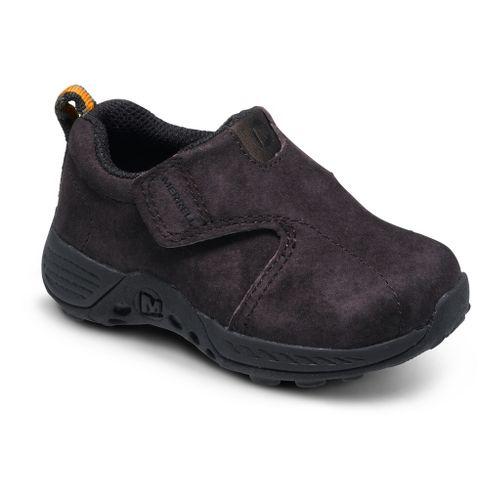 Kids Merrell Boys Jungle Moc Sport A/C Casual Shoe - Brown/Black 5C