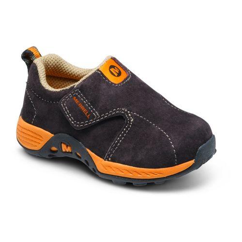 Kids Merrell Boys Jungle Moc Sport A/C Casual Shoe - Brown/Orange 6C