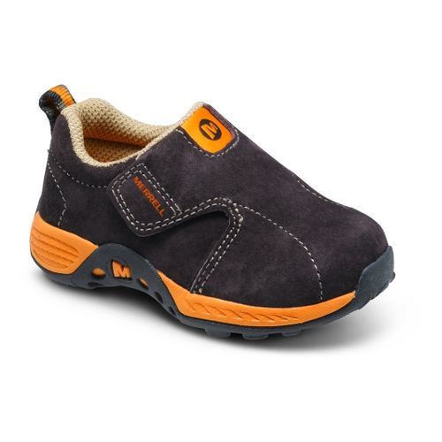 Kids Merrell Boys Jungle Moc Sport A/C Casual Shoe - Brown/Orange 7