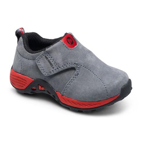 Kids Merrell Boys Jungle Moc Sport A/C Casual Shoe - Grey/Red 9