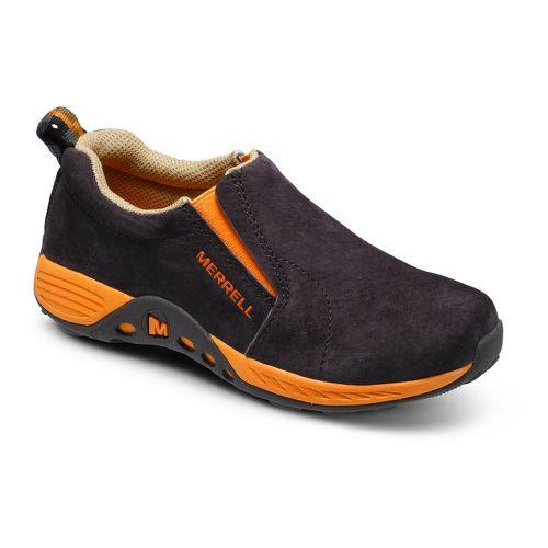 Kids Merrell Boys Jungle Moc Sport Casual Shoe - Brown/Orange 4