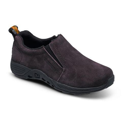 Kids Merrell Girls Jungle Moc Sport Casual Shoe - Brown/Black 7