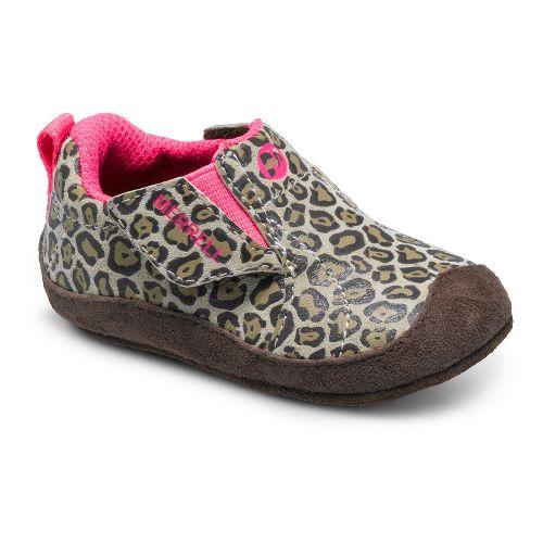 Kids Merrell Girls Jungle Moc Baby Casual Shoe - Leopard 1