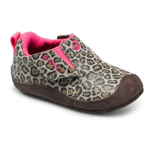 Kids Merrell Girls Jungle Moc Baby Casual Shoe - Leopard 4