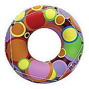 "Poolmaster 48"" Bright Color Circles Pool Tube"