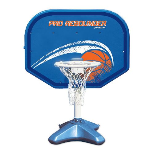 Poolmaster Pro Rebounder Adjustable Poolside Basketball Game - Blue