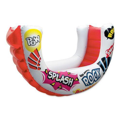 Poolmaster Aqua Rocker Fun Float - White/Red