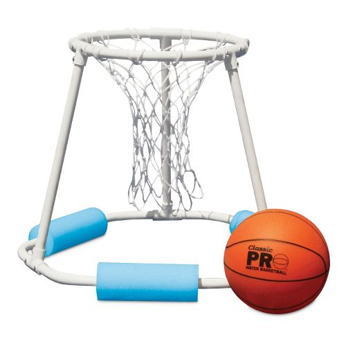 Poolmaster Classic Pro Water Basketball Game - Blue/White