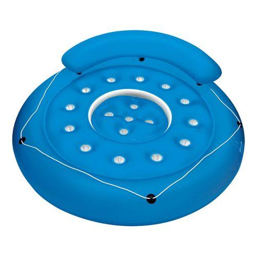 Poolmaster French Pocket Convertible Island - Blue