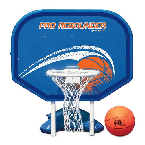 Poolmaster Pro Rebounder Poolside Basketball Game - Blue