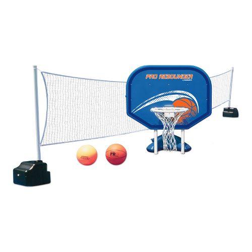 Poolmaster Pro Rebounder Poolside Combo - White/Blue
