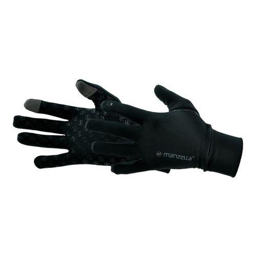 Mens Manzella Sprint TouchTip Gloves Handwear - Black M/L