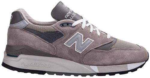 Mens New Balance M 998 GR Classic Running Shoe - null 10
